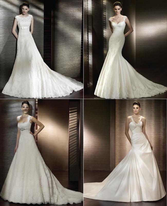 {Bridal Fashion} Non-Strapless Wedding Dresses