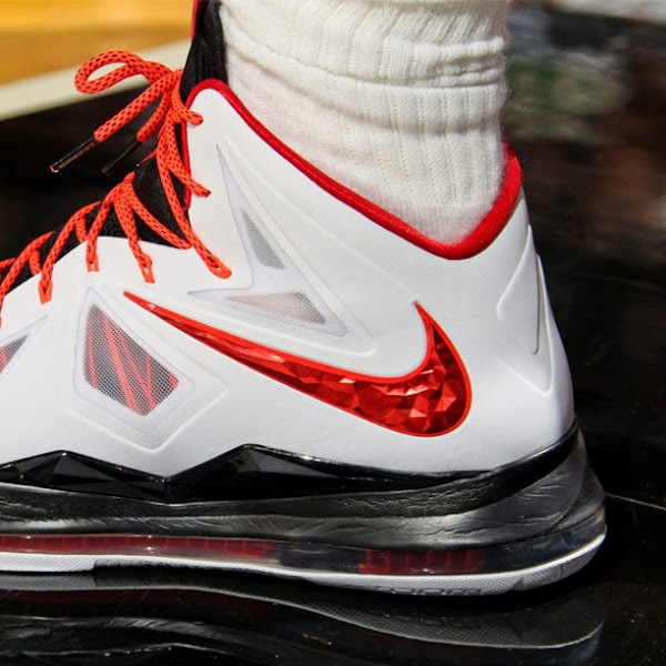 LeBron James8217 Latest LBJ X Miami Heat Home Player Exclusives