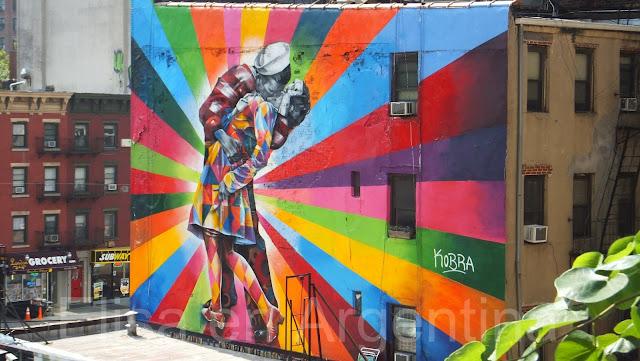 Street Art, The High Line, Nueva York, Elisa N, Blog de Viajes, Lifestyle, Travel