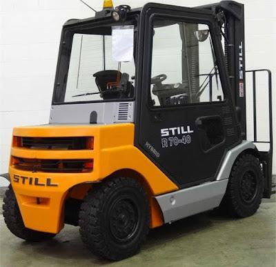 Xe nâng diesel 5 tấn Still