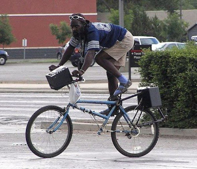 Bicicleta sem selim