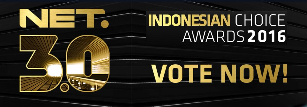 Indonesian Choice Awards 2016 | NET. 3.0 | #IndonesiaLebihKece [image by @netmediatama]