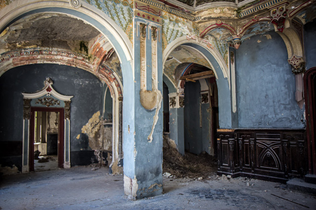 Castello di Spitzer, Beocin, Serbia, edifici abbandonati, case abbandonate, Špicerov dvorac, Beočin, Srbija, Spitzer kastely, Belcseny, Szerbia, abandoned
