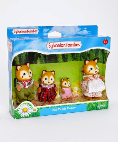 Sylvanian Families Red Panda Family on offer at £9.99