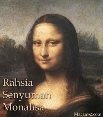 Lukisan potret Mona Lisa oleh Leonardo da Vinci