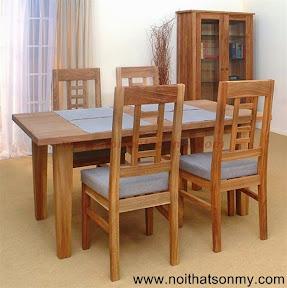Bộ bàn ghế gỗ 11