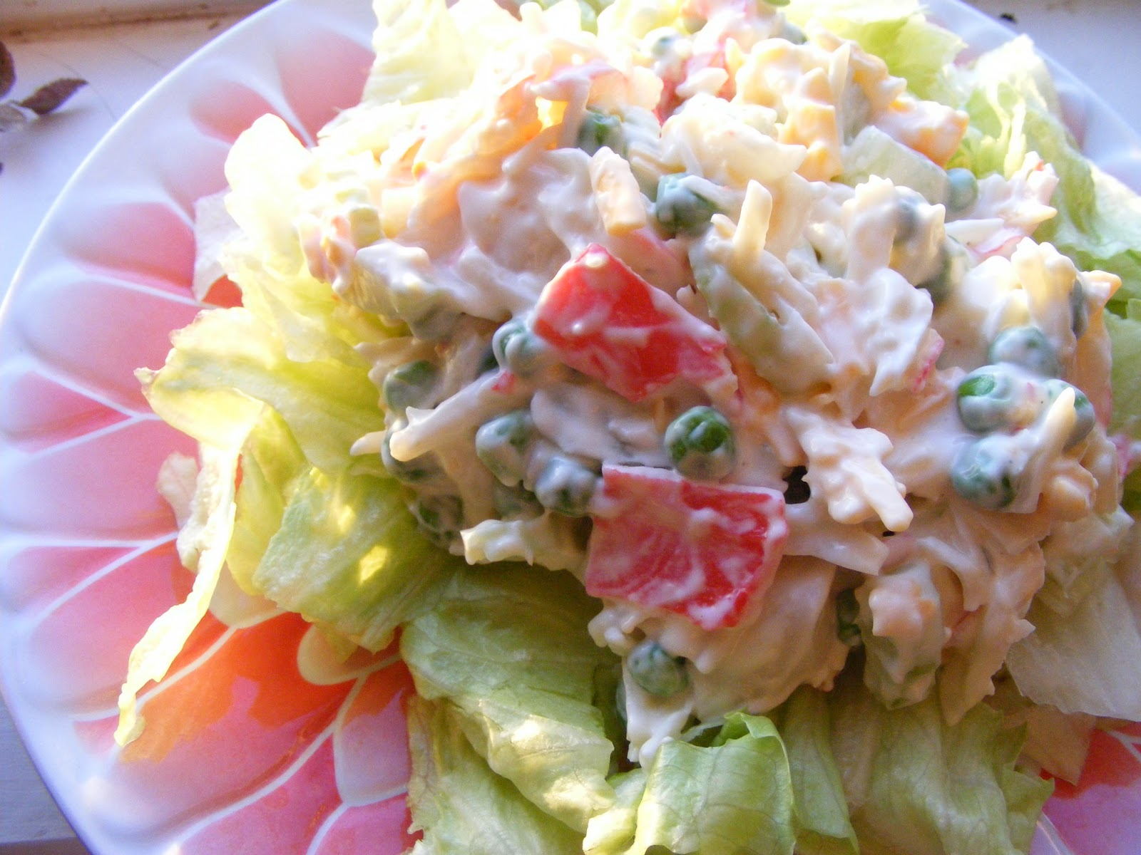Everyday Mom Ideas: Easy Lean Crab Salad Recipe