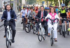 El Proyecto STARS celebra el Día sin Coches con 1.000 participantes en bici
