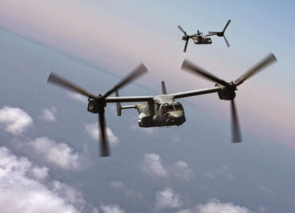ABDULLAH. LA GRANJA. PARTIDA ABIERTA. 07-07-13 MV-22B-Ospreys-assigned-to-Marine-Medium-Tiltrotor-Squadron-VMM-263-Reinforced