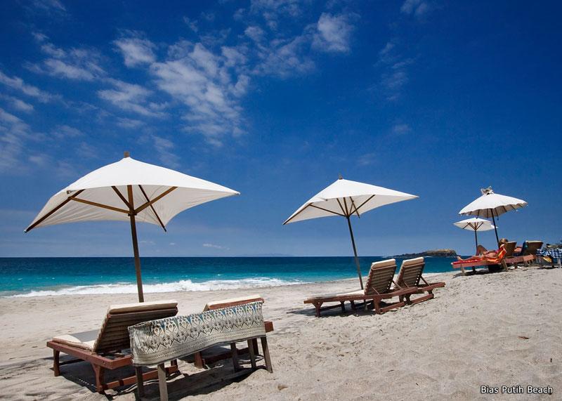 Bias Putih Pantai Perawan Di Bali Timur Wisata Bali