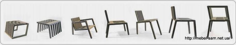 Некоторые возможные варианты мебели из фанеры