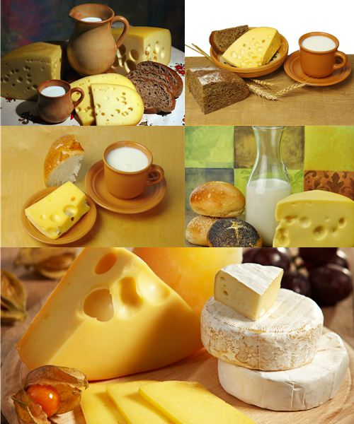 Stock Photo: Dairy products 4