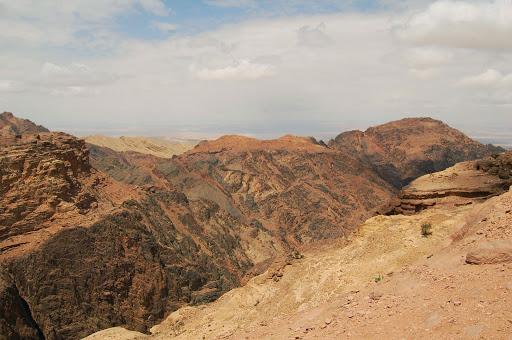 Иордания. Горные хребты