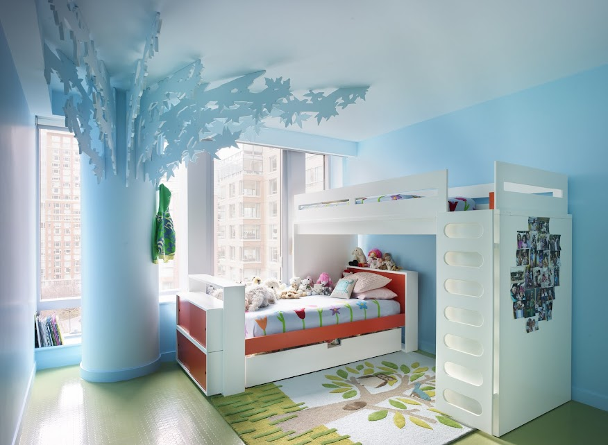 incorporated architecture design benroth rolston stuart Bohemian Apartment Girls Bedroom.jpg