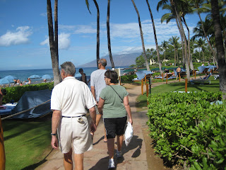 Beachwalk in Wailea