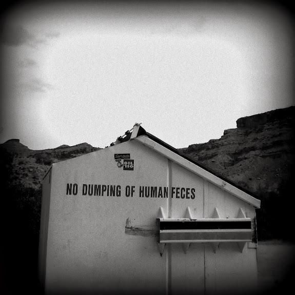 No dumping of human feces