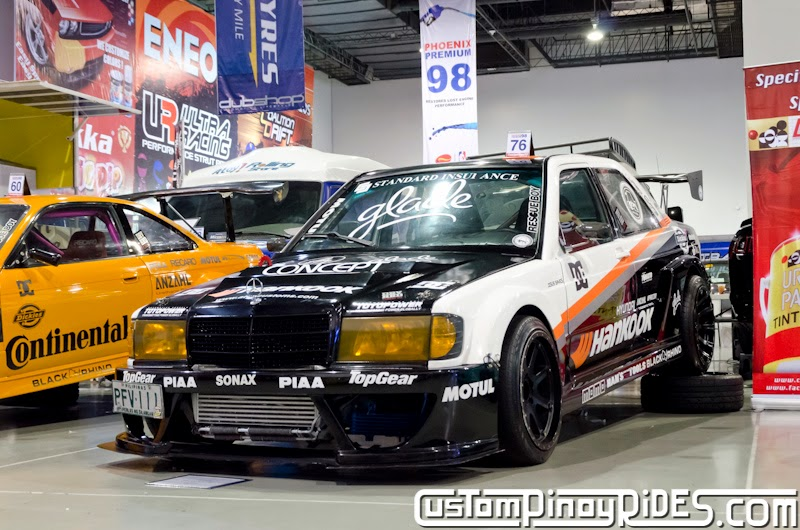 Atoy Customs 1JZ-Powered Mercedes-Benz 190E Drift Car