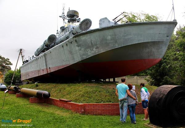 kuter torpedowy w muzeum im. Orła Białego