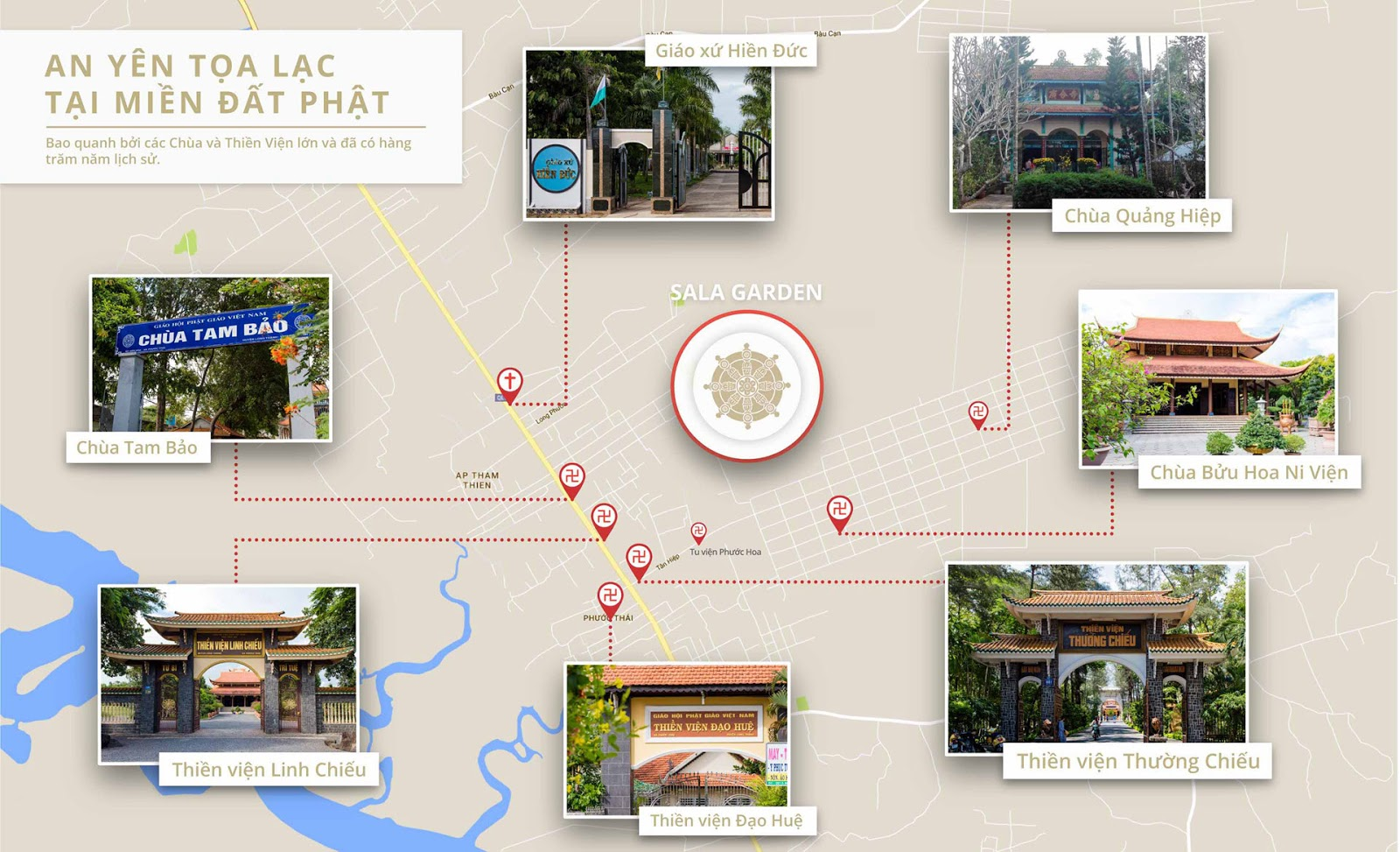 Thiền viện quanh Hoa Viên 5*