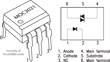 Vcc2gnd Com Solusi Rekayasa Elektronika Moc3021