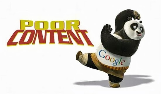 Nothing kills your website quicker than poor content and as you know, Google Panda hates websites with poor content. It's designed to weed all those websites with poor contents out.