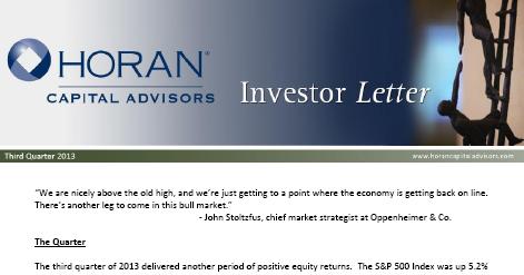 Investor Letter: Multiple Expansion Contributing To Market Returns