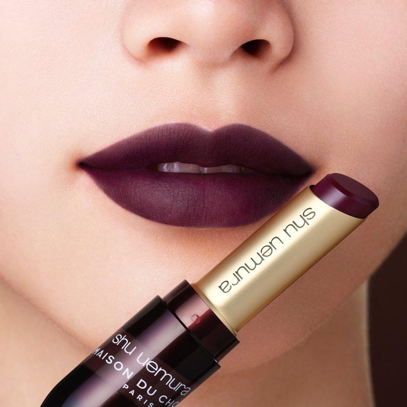 Son Shu Uemura x La Maison du Chocolat Rouge Unlimited Supreme Matte Lipstick Limited Edition