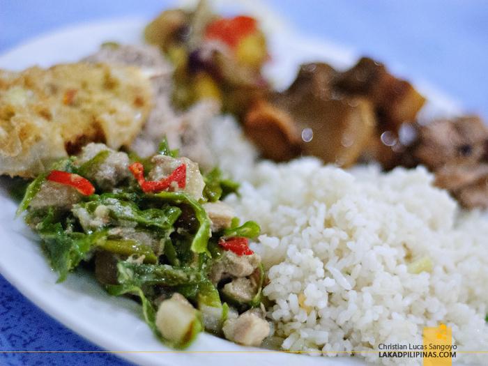 Bicol Express at Waway's Restaurant in Legazpi City