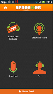spreaker for android