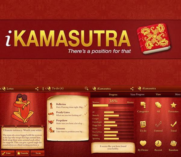 iKamasutra - Sex Positions v2.2.2 for Android - Los secretos del sexo seg�n el Kamasutra