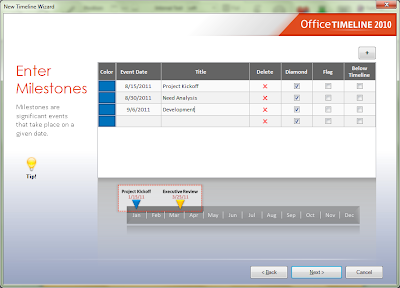 Easily Create Project Timelines In PowerPoint 2007 And 2010 With Office Timeline