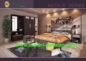 Gambar Lemari Pakaian Murah Bedroom Set Natalie
