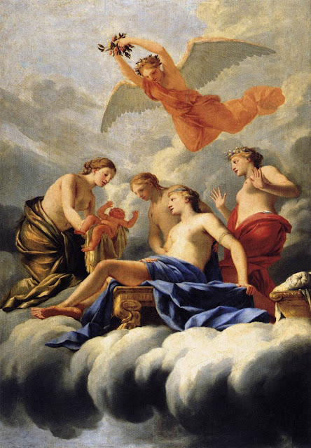 Eustache Le Sueur - The Birth of Cupid