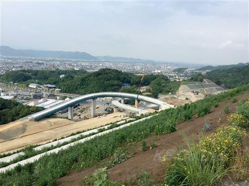 EG植栽パック 京奈和IC施工現場