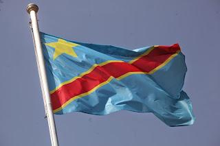 Le drapeau de la RDC