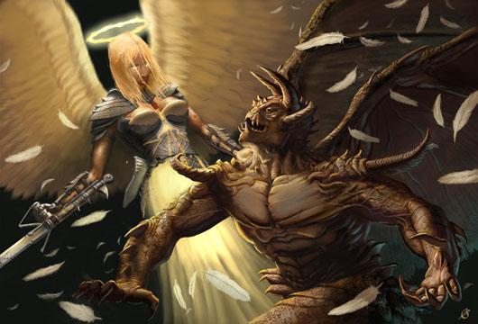 Demon VS Angel, de Joe Slucher