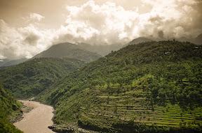 Jehlum River at Muzaffarabad - Azaad Kashmir