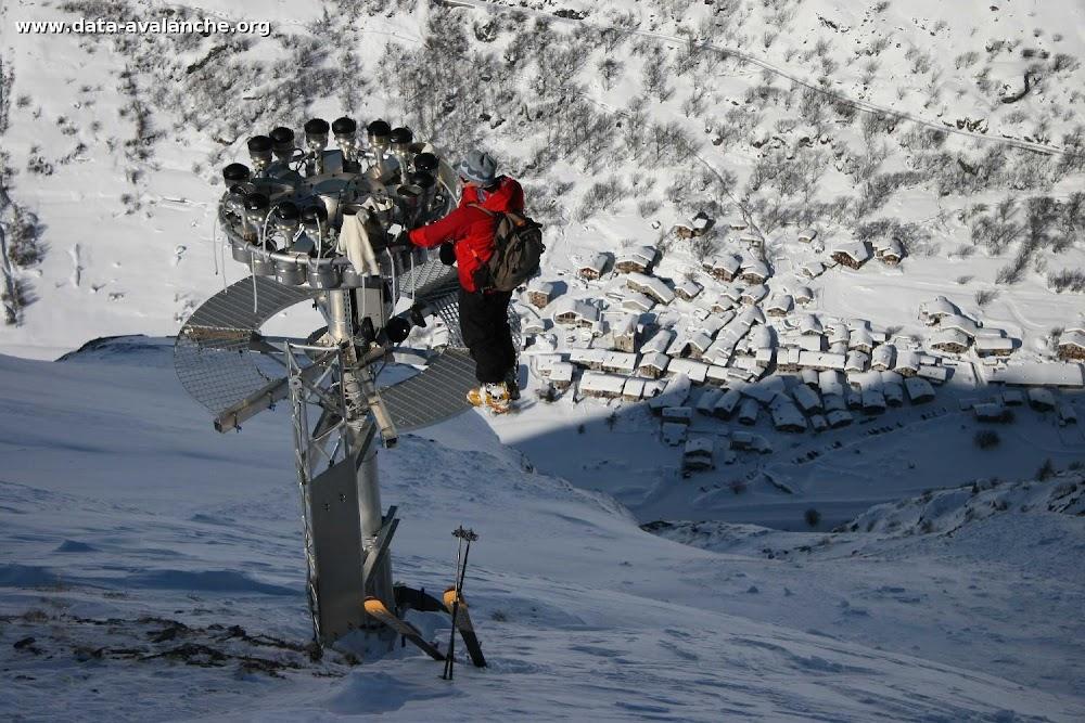 Avalanche Haute Maurienne, secteur Pointe d'Andagne, Couloir du Tchou - Photo 1