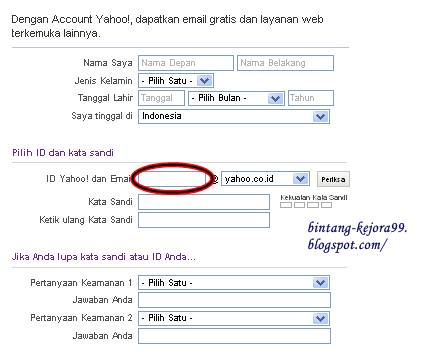 Membuat Email Yahoo