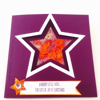 Linda Vich Creates: Star Card: Simple Sophistication