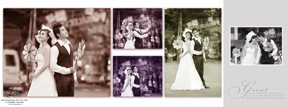 Album hình cưới đẹp phố xuân
