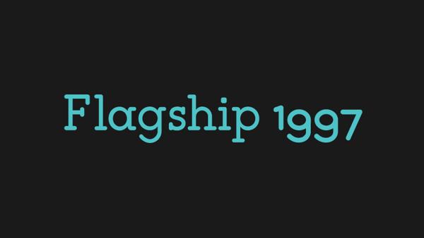 Flagship Free Fonts