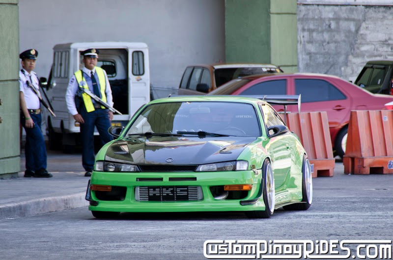 Mean Green Nissan S14 Silvia Custom Pinoy Rides Car Photography Philippines Philip Aragones THE aSTIG pic1