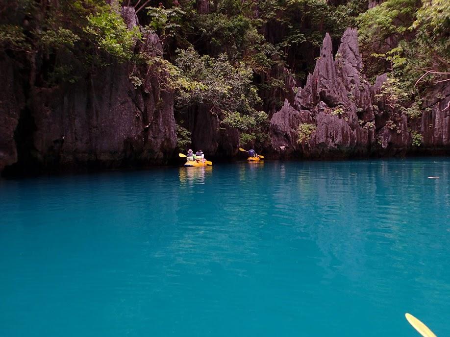 Small Lagoon, Miniloc Island, Palawan, Philippines.