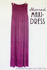 Shirred Maxi-Dress Tutorial