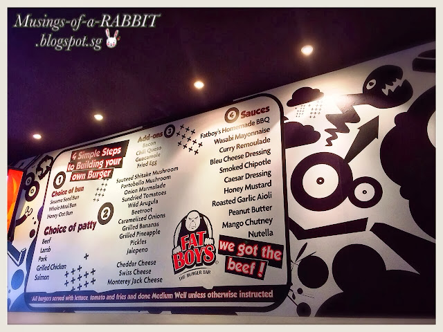 FATBOY's The Burger Bar, Katong