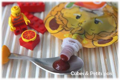 Sauce tomate maisonpour bébé dans une gourde