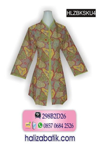grosir batik pekalongan, Batik Muslim, Model Busana, Busana Batik Modern