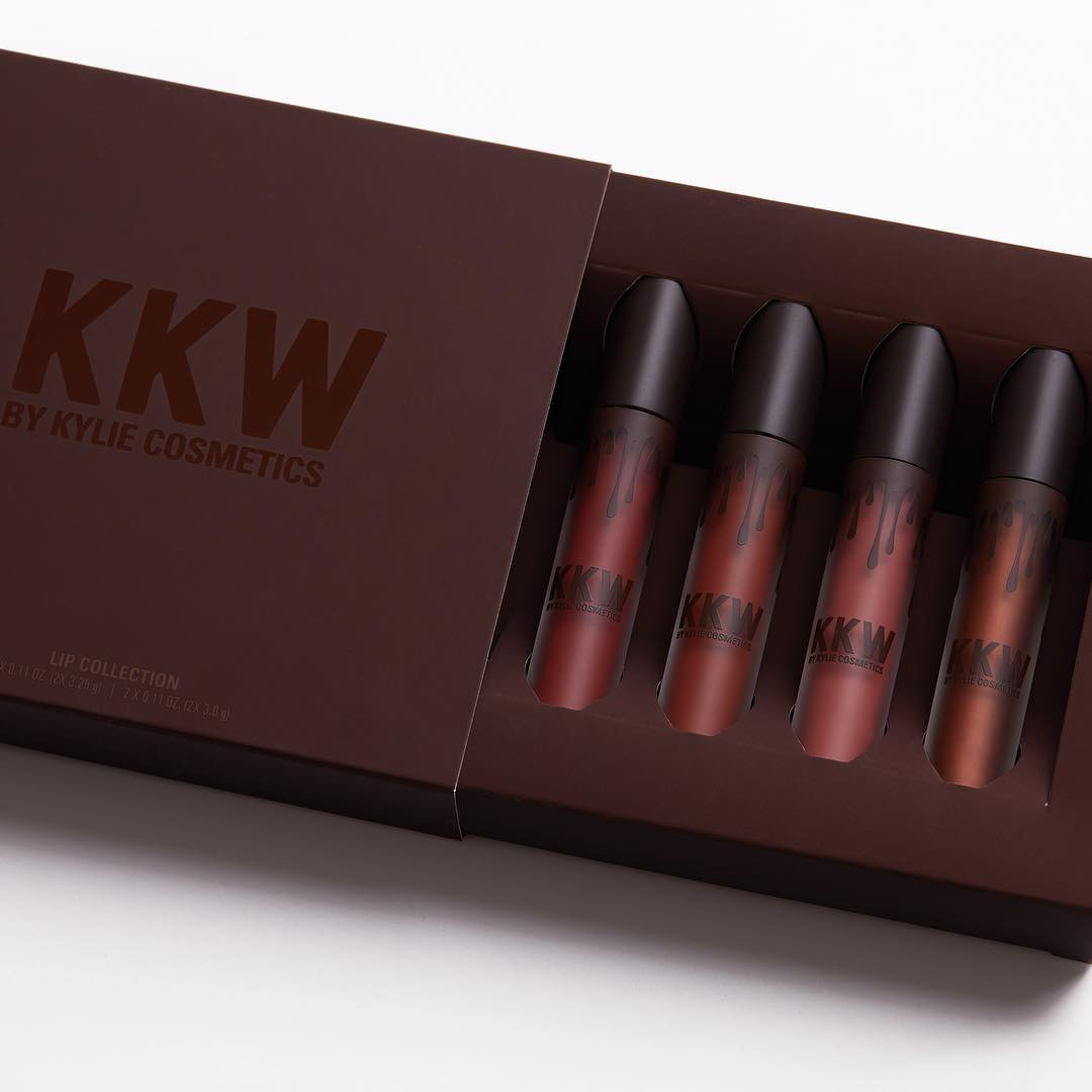 KKW by Kylie Cosmetic Lip Collection