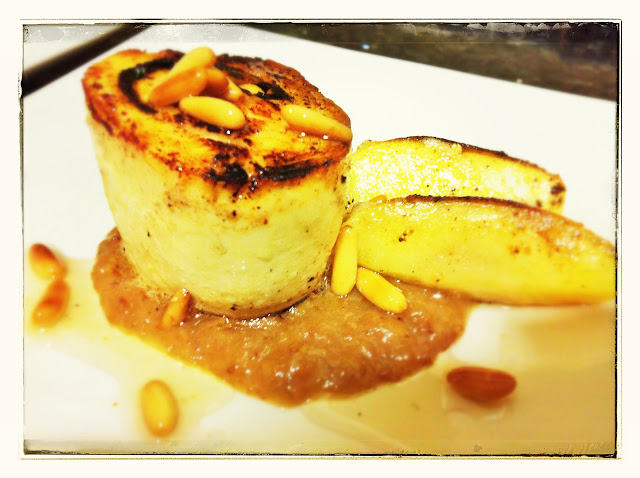 medallón de pollo y espinacas con puré de pasas restaurante a domicilio Mejor en casa